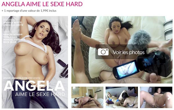 Angela White aime le Sexe Hard