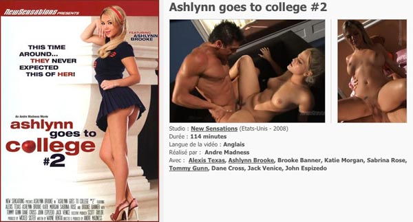 Ashlynn goes to College 2 VOD