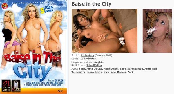 Baise in the City VOD
