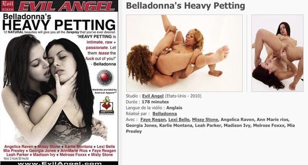 Belladonna's Heavy Petting VOD