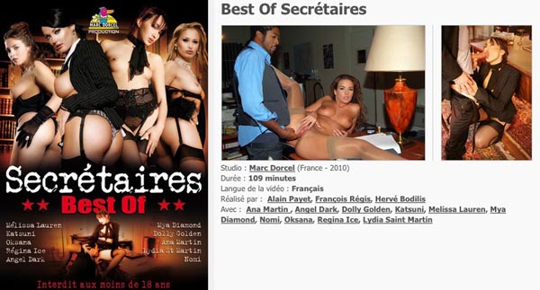 Best of Secretaires VOD