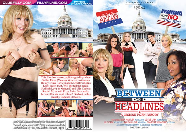 Between the Headlines A Lesbian Porn Parody