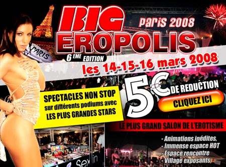 flyer du salon Big Eropolis