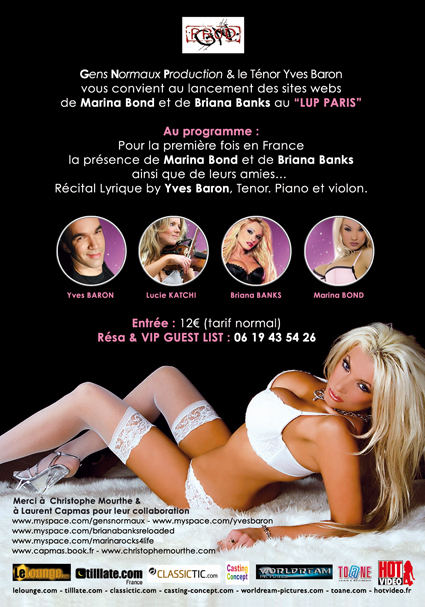 Briana Banks au Lup Paris