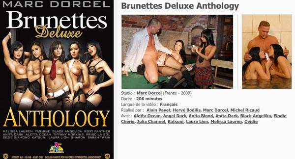 Brunettes Deluxe Anthology VOD