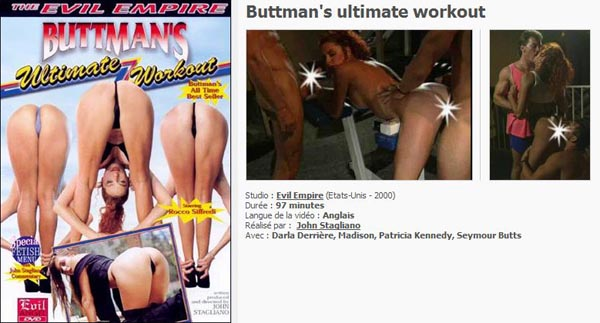 Buttman's Ultimate Workout