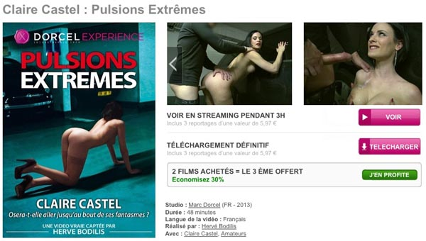 Claire Castel Pulsions Extremes