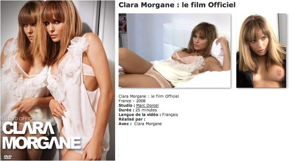Clara morgane le film officiel VOD