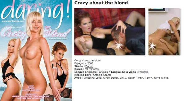 Crazy about the blond