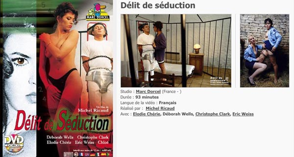 Delit de Seduction VOD