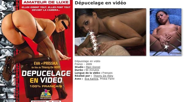 Depucelage en Video