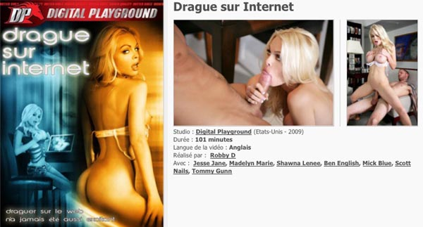 Drague sur Internet