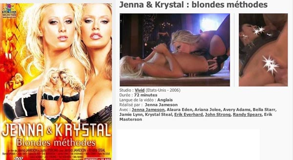 Jenna et Krystal Blondes Methodes