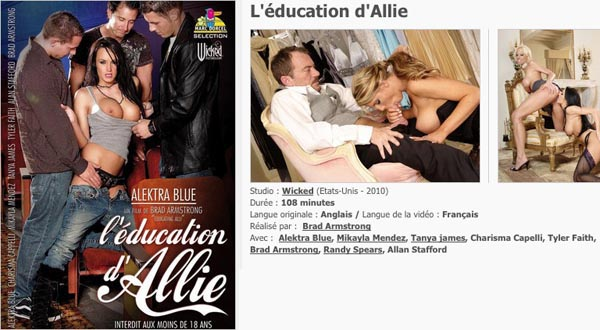 L\'éducation d\'Allie