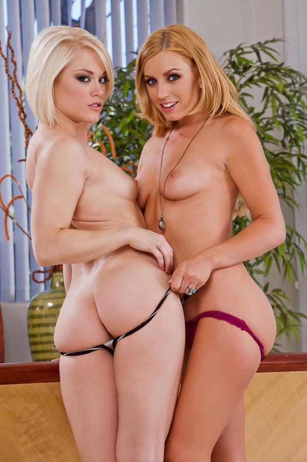 Ash Hollywood et Lexi Belle
