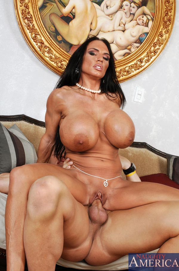 image Chesty brunette eva angelina gets facialized
