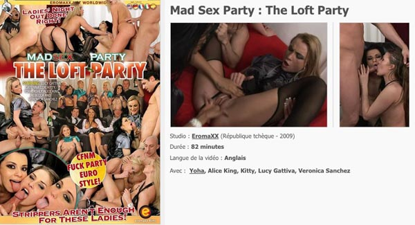 Mad Sex Party The Loft Party VOD