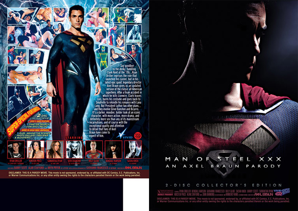 Man of Steel XXX
