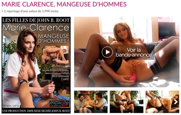 Marie Clarence Mangeuse d'Hommes