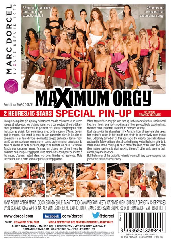 Maximum Orgy Spécial Pin Up