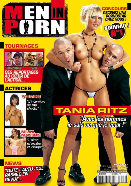 couverture du Magazine Men In Porn 1