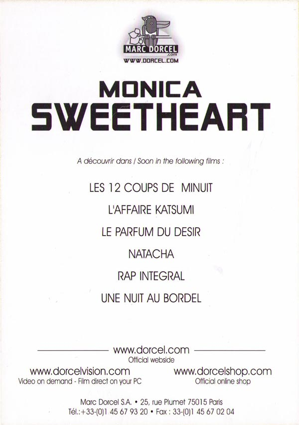 Monica Sweetheart