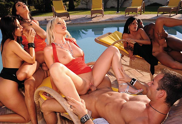 orgy at the villa private