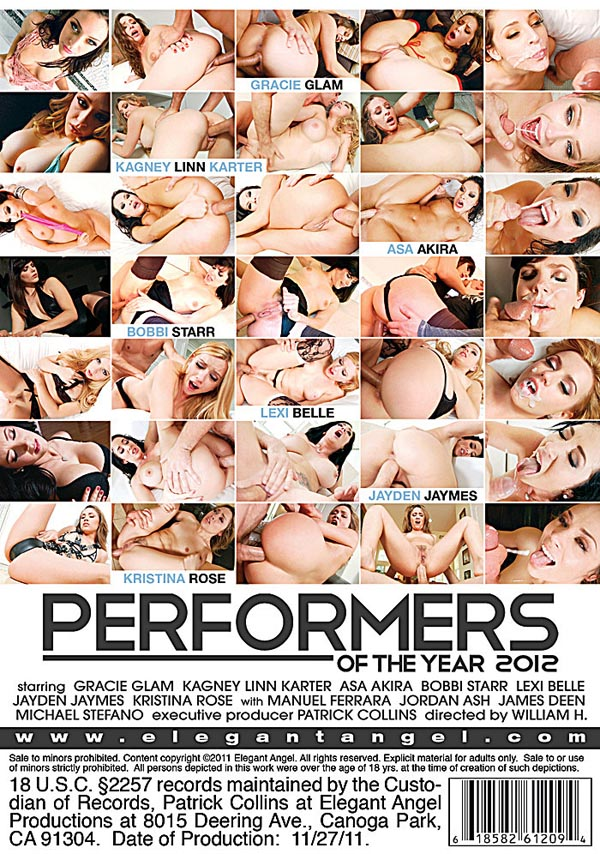 Performers of the Year 2012