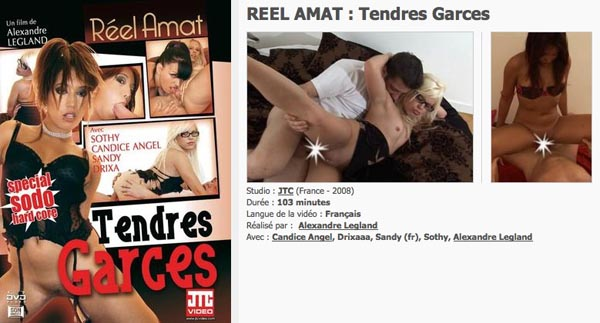 Réel Amat Tendres Garces VOD