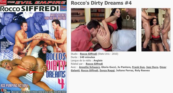 Rocco's Dirty Dreams 4 VOD