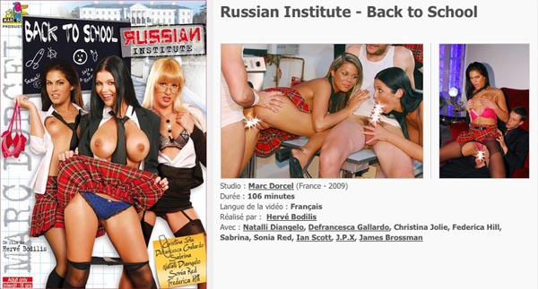 Russian Institute Back to School VOD