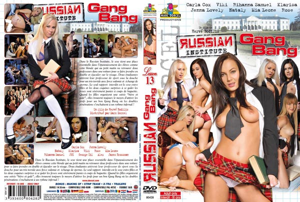 Russian Institute Gang Bang