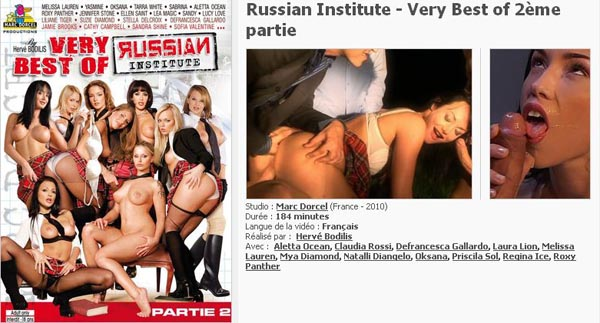 Russian Institute Very best Of 2eme Partie