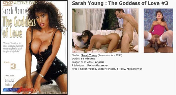 Sarah Young The Goddess of Love 3 VOD