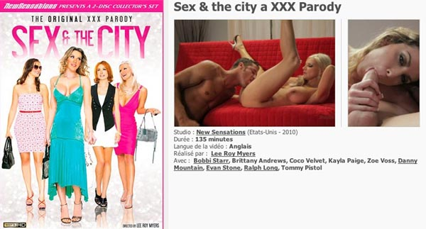 Sex And The City A XXX Parody