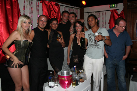B-Kass, Célia, Dove, Phil Hollyday, Karine, Cruz