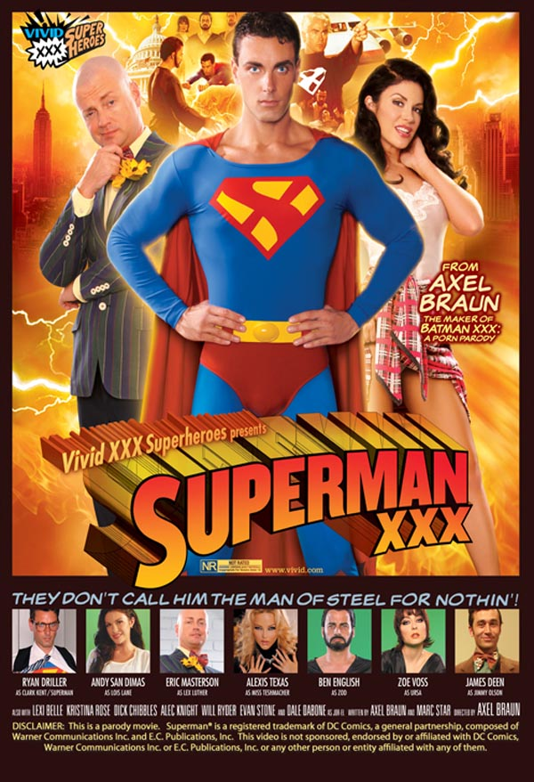 Superman XXX VOD