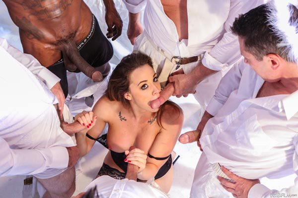 The Devil\'s Gang Bang Lisa Ann vs Chanel Preston