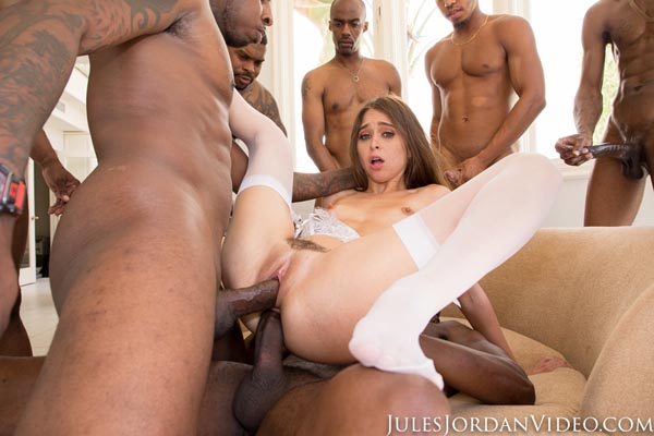 The GangBang of Riley Reid