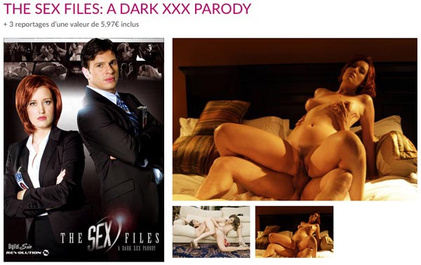 The Sex Files A Dark XXX Parody VOD