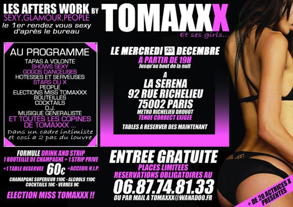 Tomaxx After Work