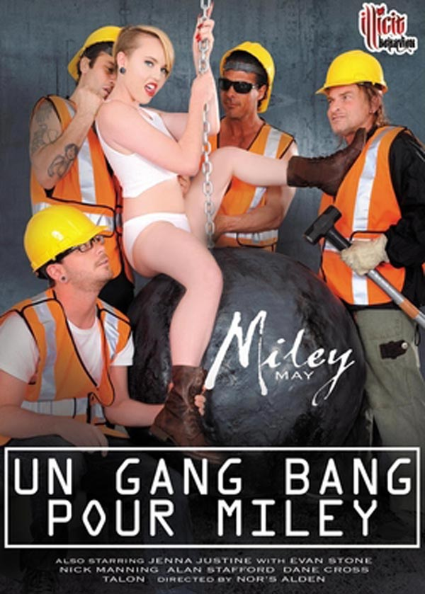 Un Gang Bang pour Miley