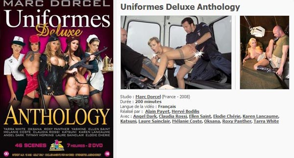 Uniformes Deluxe Anthology VOD