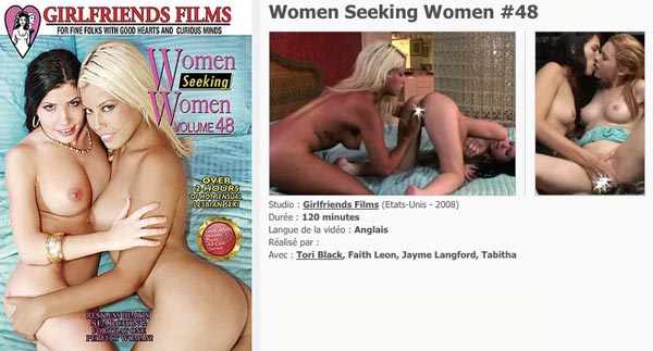 Woman Seeking women 48 VOD