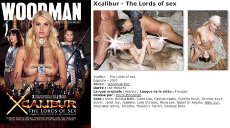 Xcalibur the Lords of Sex en VOD