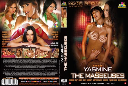 jaquette du dvd X Yasmine and the masseuses