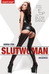 Aidra Fox is Slutwoman Double Penetration Blowbang