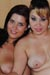 Klea Shine et Talia May en Video Lesbienne par Pascal Galbrun