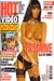 Yasmine en couverture du Hot Video 196 d' Avril